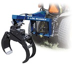 Iron & Oak 3-Point Tractor Mount Skidder Loader Grapple SB-06