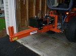 "30-Ton Horizontal 38"" Open 3 PT Hitch Attachment with PTO PUMP"