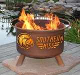 Southern Mississippi Patio Fire Pits