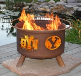 BYU Patio Fire Pits