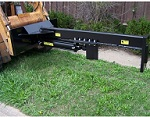 "25"" Open Skid Steer Upside Down Log Splitter Attachment 30-Ton"