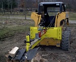 Skid Steer Horizontal Log Splitter Attachment 30-Ton