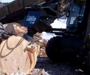 HF200 Skid Steer Log Splitter